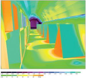 OENOLED - Etude DIALux Simulation d'éclairage
